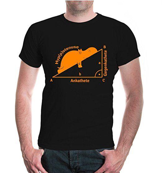 BuXsbaum® T Shirt Hyppotenuse Ankathete Gegenkathete