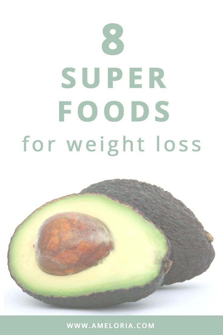 8 weight loss super foods you should be eating. Don't worry there's nothing scary or weird on the list either! Click to read   Ameloria Wellness