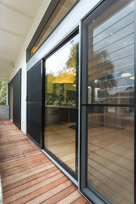 This home in Queensland's Sunshine Coast uses ForceField® security screens. These screens will keep your home safe from all intruders. The heavy duty aluminium frame and the marine grade stainless steel mesh are joined together in a mechanical and chemical bond. It is virtually unbreakable & provides complete insulation of the two metals…eliminating a major cause of corrosion. ForceField® has passed every imaginable test & a few you would never imagine.