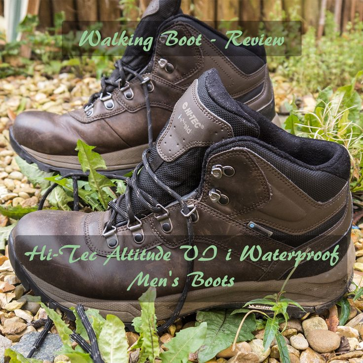 A review of the New Hi-Tec Altitude VI i Men's waterproof walking boots.