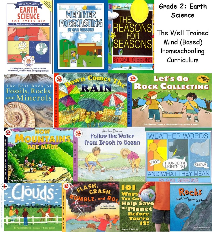 Well-Trained Mind (Based) Homeschooling Curriculum for Grade 2 Science (Earth Science) @momslibrary
