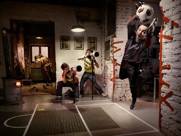 Everybody Football by Tomek Albin, via Behance