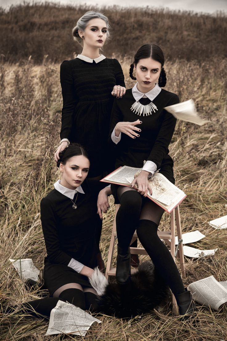 Gothic Charm School: pretty things • esfriertmich: Halloween photoshoot October,...