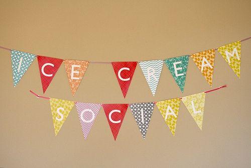 ice cream social decorations | Foodbuzz 24 x 24: Ice Cream Social | Annie's Eats