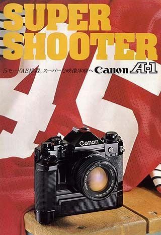Canon A-1, my film camera.