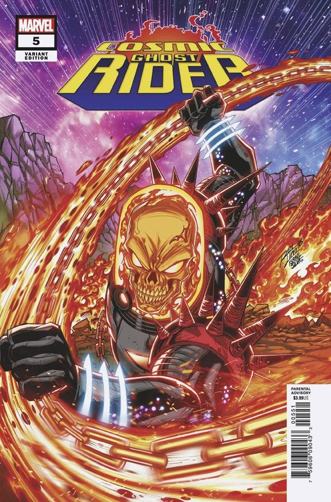 Cosmic Ghost Rider #5 Shavrin Variant NM Ships in Gemini Mailer