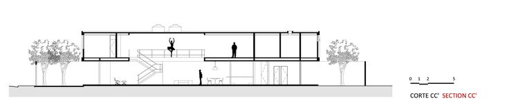 Imagem 51 de 52 da galeria de Casa Jardins / CR2 Arquitetura. Corte C