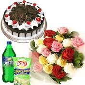 send flowers to India and worldwide: Birthday Flower delivery to Mumbai from Delhi