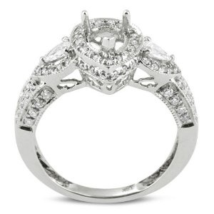 10 Best Images About 25th Anniversary Ring Ideas On Pinterest | Halo Pear Shaped And Diamond Rings