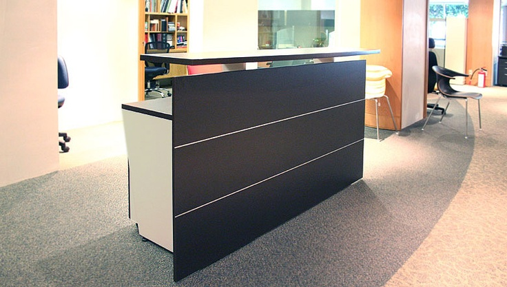 Reception in Wenge finish with sand.