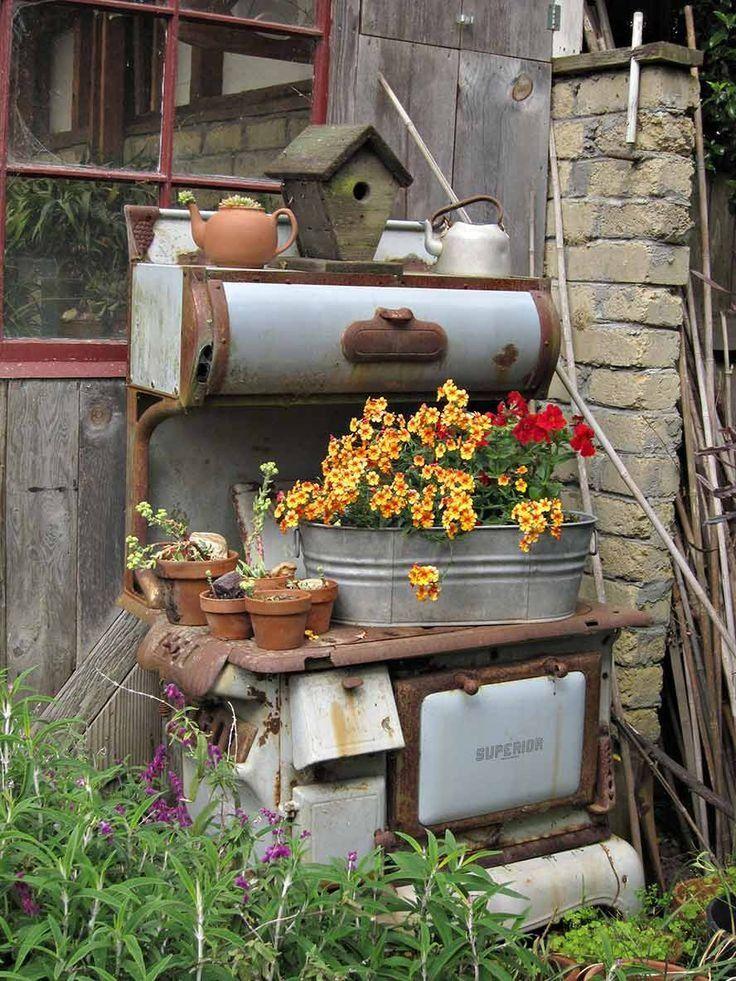 20 Most Beautiful Vintage Garden Ideas Diy Crafts Blog Rustic Gardens Vintage Garden Vintage Gardening