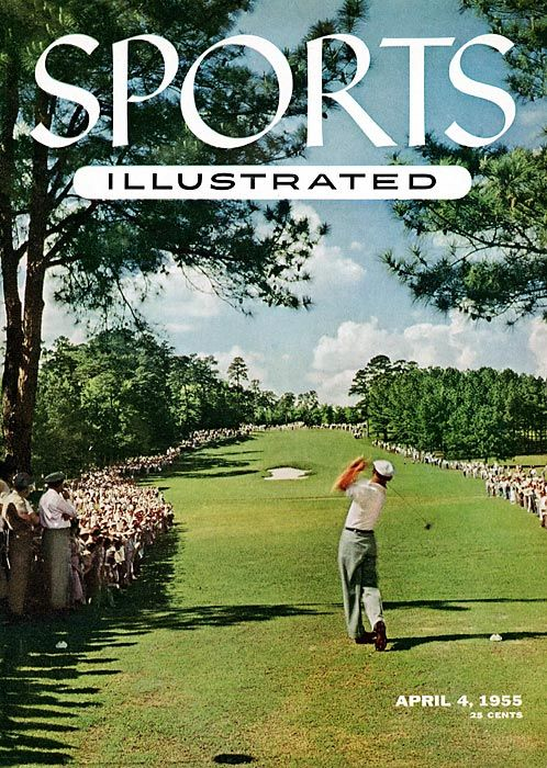 Ben Hogan was the first golfer to grace the cover of Sports Illustrated  from the Masters in 1955.