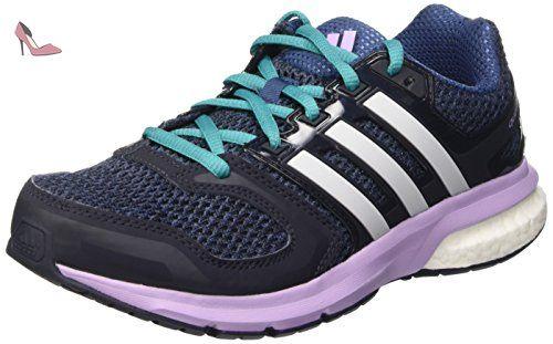adidas Vs SET W, Chaussures de Fitness Femme, Multicolore-Noir/Blanc/Rouge (Negbas/Ftwbla/Rojimp), 40 2/3 EU