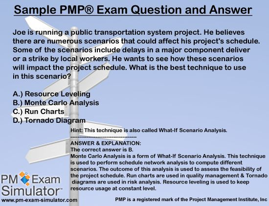 29 best PMP study questions images on Pinterest Pmp exam - project schedule sample