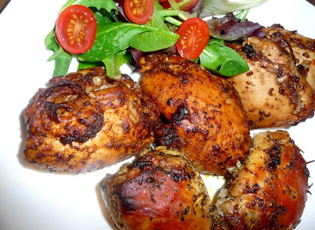 baked chicken thighs – 3 ways!Chickenthighs, Chicken Recipe, Chicken Dinner, Maine Dishes, Paleo Chicken Thighs Marinades, Grilled Chicken, Baking Chicken, Baked Chicken, Chicken Marinades