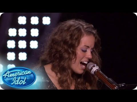 Angela Miller knew performing her own song was a risk that she was willing to take. #idol #americanidol #angelamiller