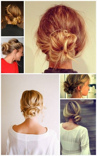 The Best Messy Buns