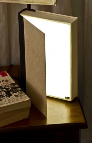 A custom DIY book light would be an incredible gift for any book-obsessed person. The light turns off when you close the book, and it gives off different levels of light depending on how widely you open the book.