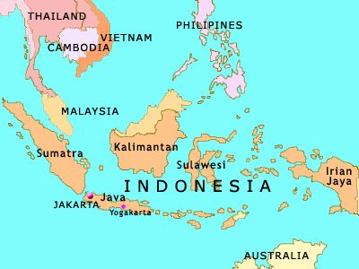 map of se asian pacific islands malaysia indonesia philippines