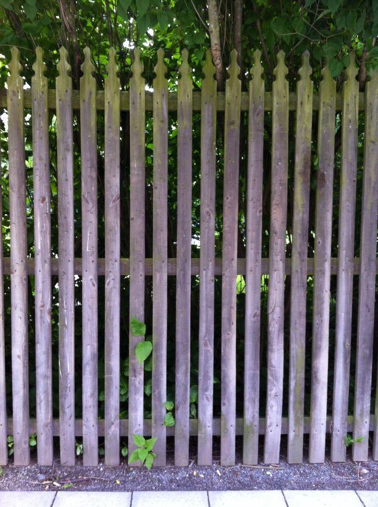Bettinas blad: Vi samlar vackra staket!