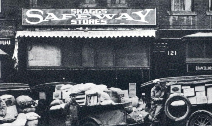 Safeway Stores 1926 766 stores Supermarket, Oldies