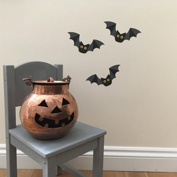 Halloween bats wall stickers/ decals