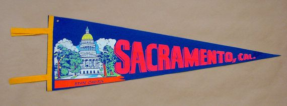 Vintage 'Sacramento Cal. State Capitol' California by ChrisAndJane