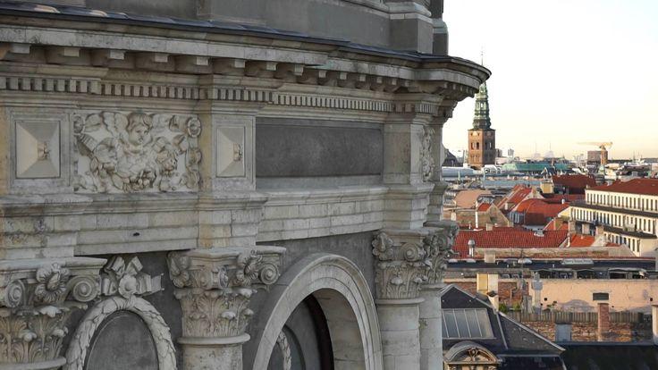 Dronefilm af Frederiks Kirke - Marmorkirken #marmorkirken #cmoellmann&co #cmøllmann #forgyldning