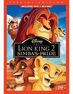 @Overstock - Darrell Rooney directed this direct-to-video sequel to Disney`s 1994 THE LION KING, which climaxed with Simba (voice of Matthew Broderick) enthroned as the ruling king of beasts following the death of the evil Scar. With the spirited tune He Lives in Y...http://www.overstock.com/Books-Movies-Music-Games/The-Lion-King-II-Simbas-Pride-Special-Edition-DVD-Blu-ray/6427231/product.html?CID=214117 $28.72