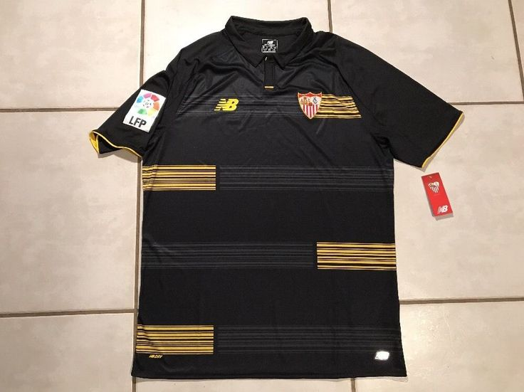 NWT NEW BALANCE Sevilla FC Third Jersey Men's XL  | eBay