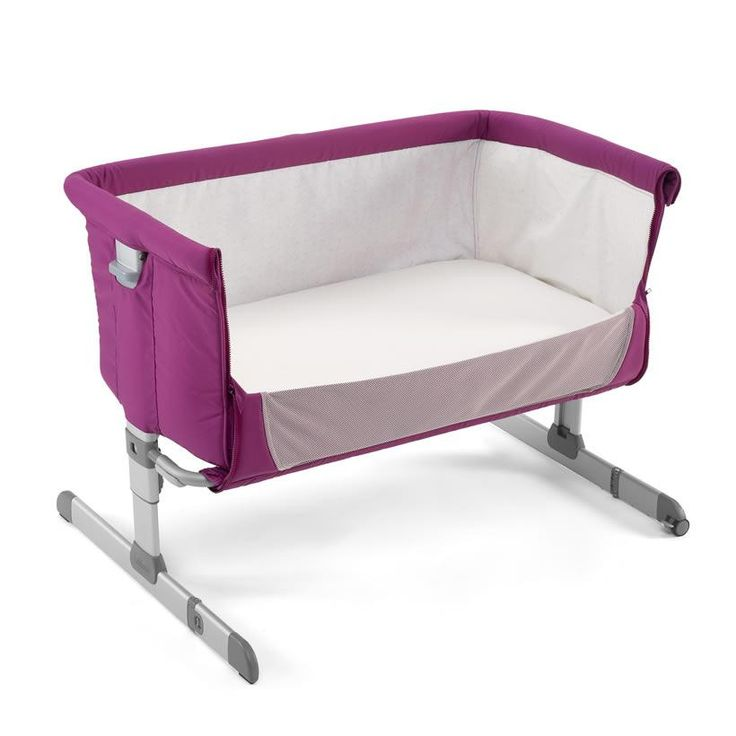 The #Chicco Next 2 Me Bedside #Crib allows you to safely sleep next to your baby at night - making it easier to breastfeed or comfort your baby during the night!