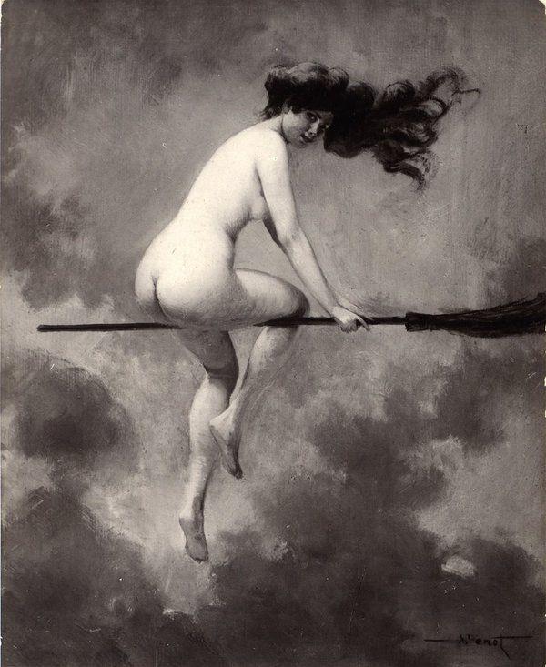 """Albert Joseph Pénot, """"Départ pour le Sabbat"""" (1910)"""