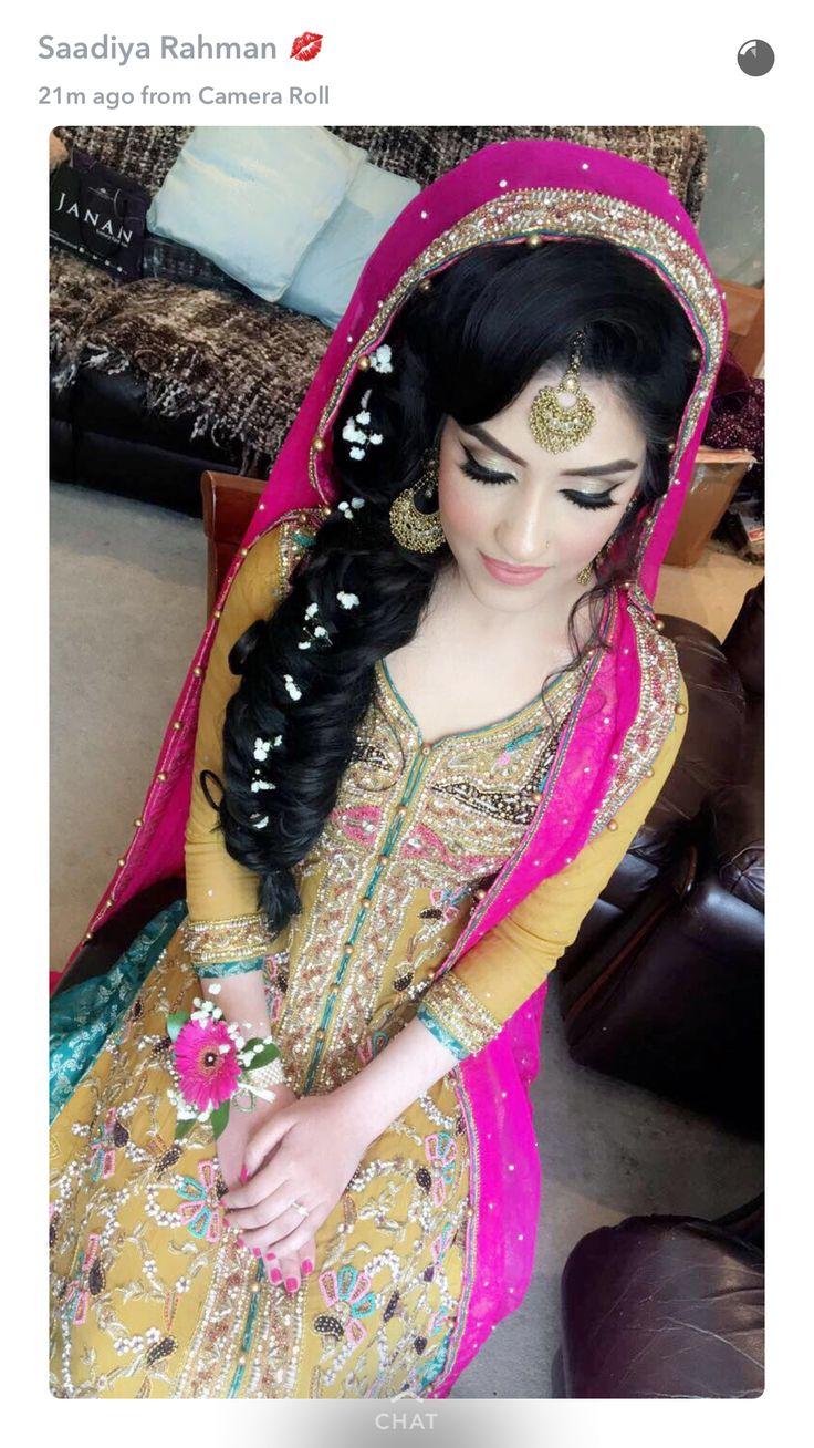 Mehndi hair/makeup