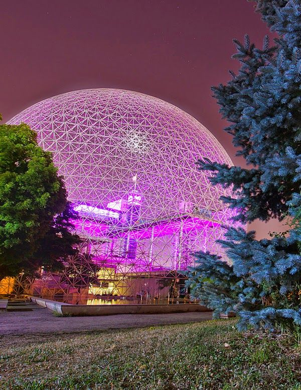 The Biosphere Museum, Montreal Canada