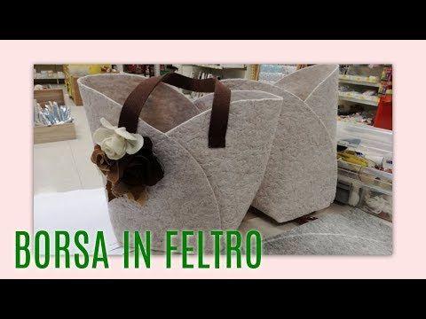 MINI TUTORIAL - Borsa in feltro | Scuolaufficio - YouTube