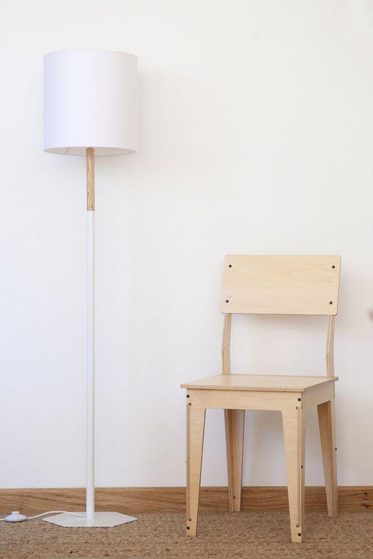 Geometric Standing Lamp // Pedersen + Lennard
