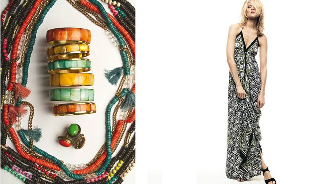 Estampados africanos en moda de verano 2012