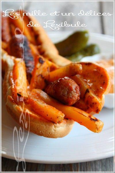 les milles & un délices de ~lexibule~: ~Hot-dog mitraillette belge~