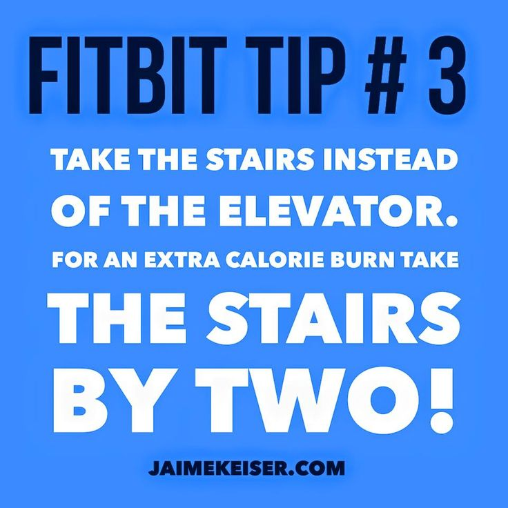 Fitbit Tip # 3