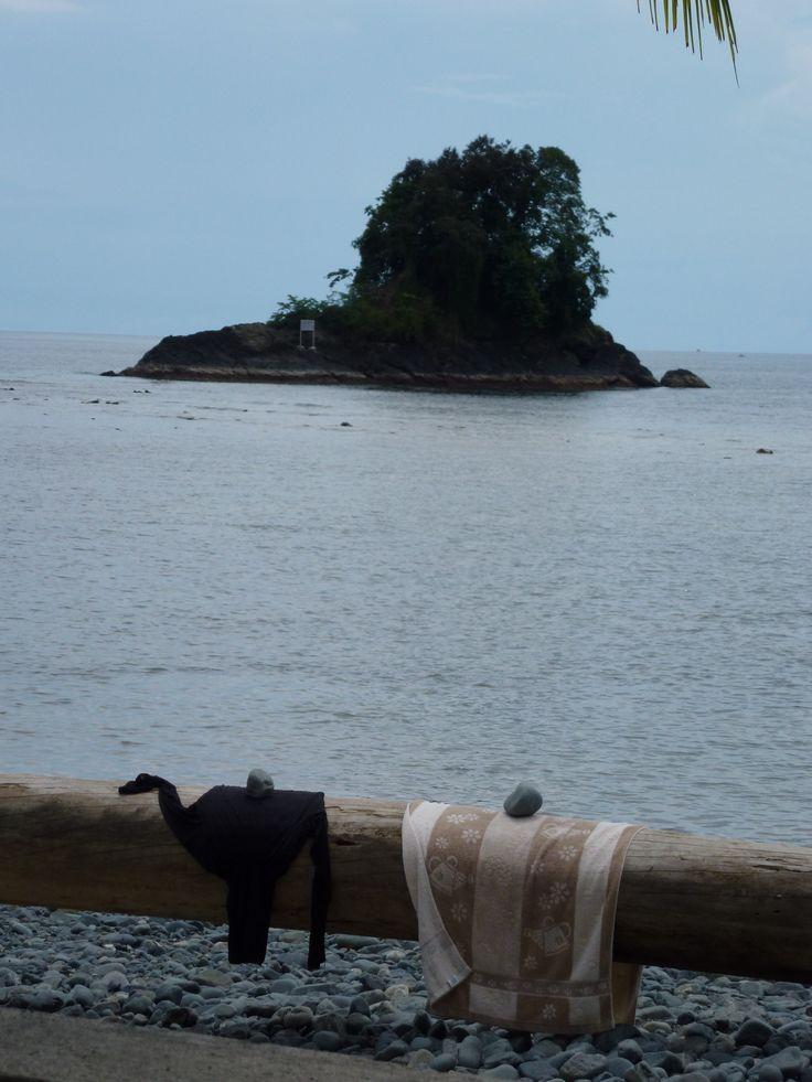 Feels like a privat island at Tablanusu beach, Papua, Indonesia