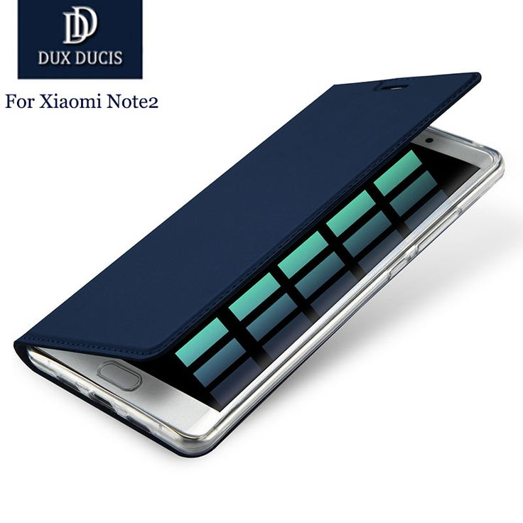 "DUX Luxury Flip Leather Wallet Case For Xiaomi Note 2 Stand Card Case For Xiaomi Note 2 5.7"" Case Note 2 Cover 2016 New"