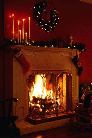 RUMA♥ZIHOZAYO Christmas fireplace