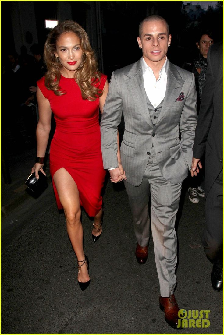 Jennifer Lopez & Casper Smart: Obama Dinner in Paris!