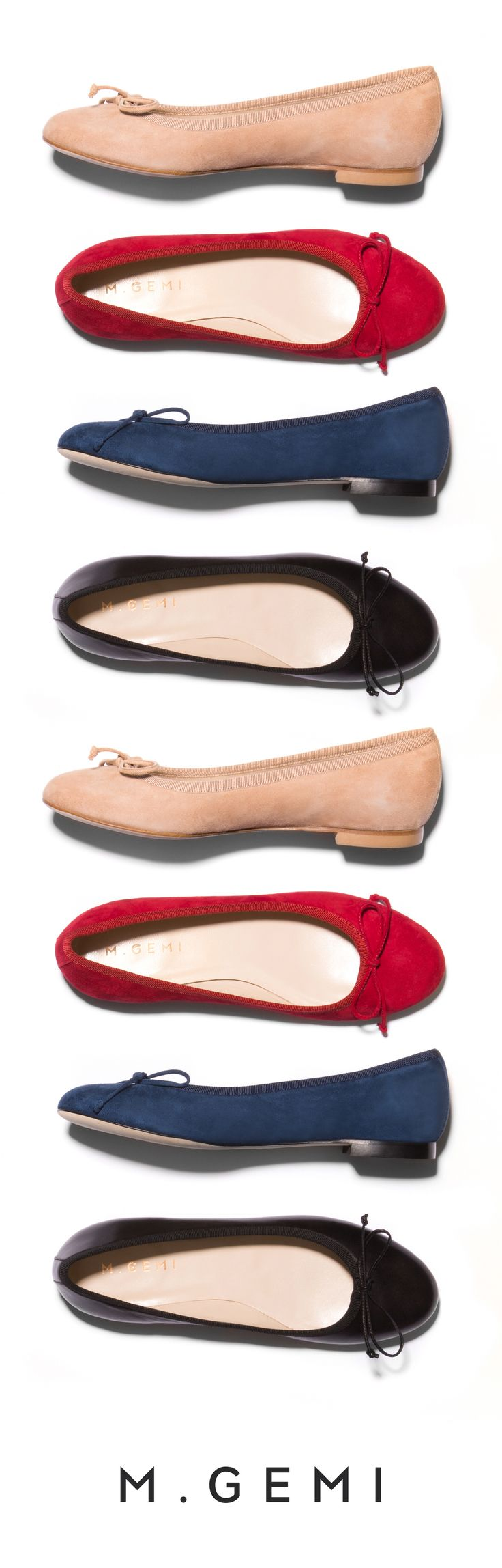 No shoe arsenal is complete without a perfectly balanced ballet flat. Say  ciao to The