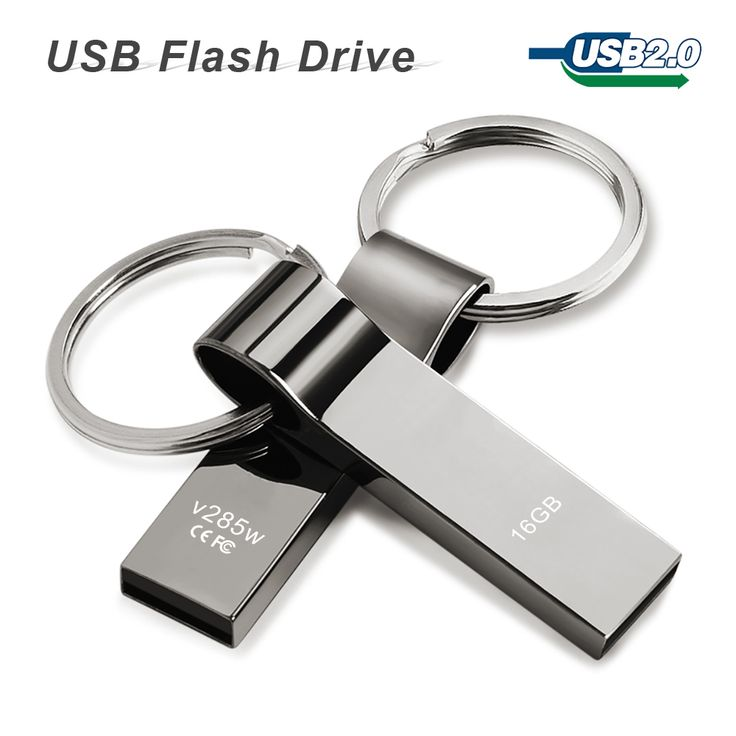 Usb flash drive de 64 GB 32 GB 16 GB 8 GB 4 GB pen drive pendrive a prueba de agua de Metal de Plata con el anillo dominante del disco de u disco de memoria usb 2.0