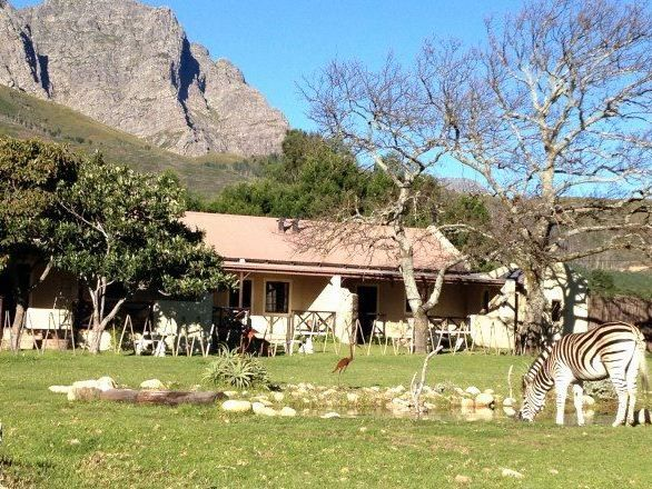 Franschhoek Country Cottages - Franschhoek Country Cottages offers self-catering accommodation in four private cottages. The units offer a romantic retreat ideal for couples visiting this picturesque area, in a wildlife reserve just ... #weekendgetaways #franschhoek #southafrica