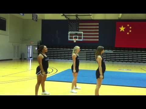 2012 ASCC Kids College Cheer Camp Dance Routine (Ages 7-12)   Love this simple but fits all girls.