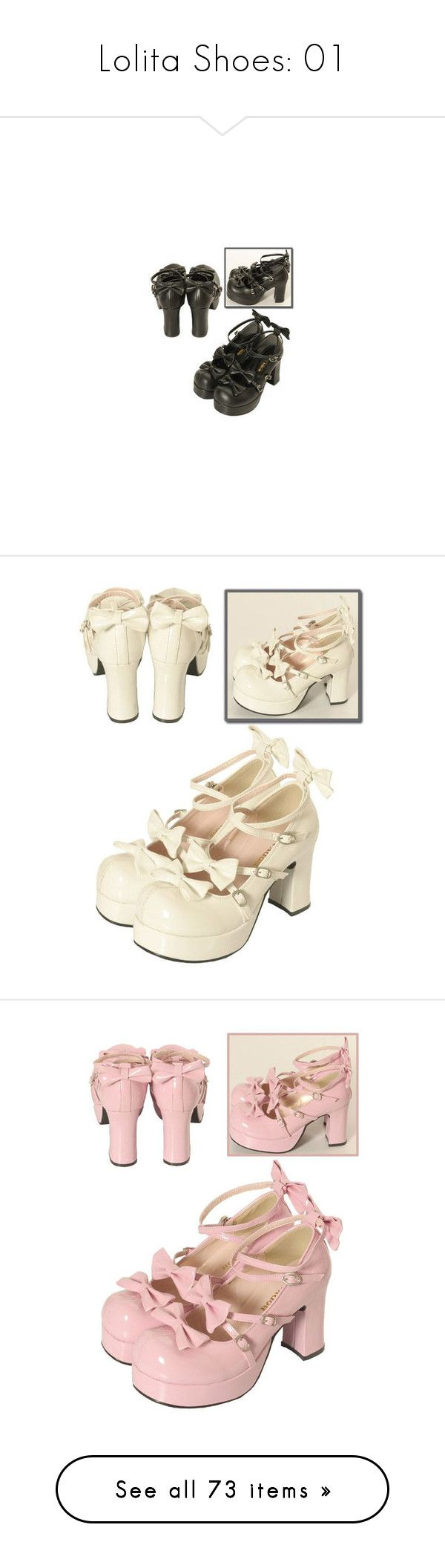 """""""Lolita Shoes: 01"""" by scandent ❤ liked on Polyvore featuring shoes, bodyline shoes, bodyline, pumps, chunky heel platform pumps, thick heel shoes, high heeled footwear, thick-heel pumps, platform pumps and high heel shoes"""
