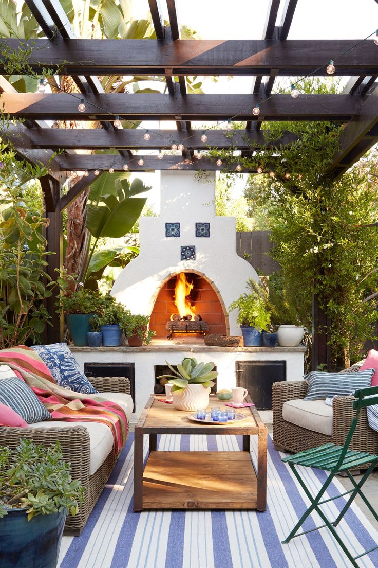 Backyard Living Ideas - Inspirational Cheap Patio Ideas ... on Cheap Outdoor Living id=11448