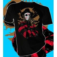 Freddy vs Jason #fridaythe13th #nightmareonelmstreet #horror #halloween #tee #tees #teeshirt #tshirt #apparel #fashion #clothing #printing